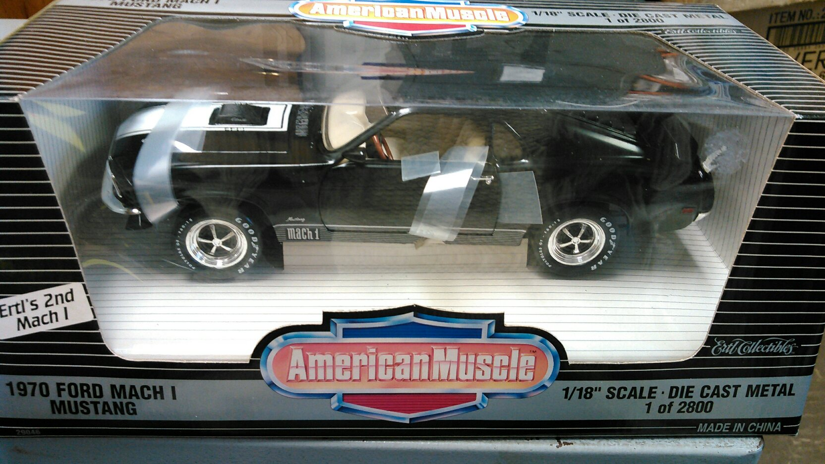1970 Ford Mach 1 Mustang Larrys Diecast Cars Police Car
